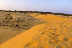 Mui Ne Vietnam. Red sand dunes at Mũi Né, Phan Thiết, Bình Thuận Province, Vietnam Stock Photography