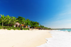 Mui Ne White Sandy Beach, Vietnam Royalty Free Stock Photography