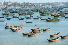 Łodzie rybackie, Wietnam Fotografia Stock