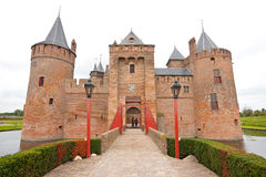 Muiderslot (著名荷兰城堡) 库存图片