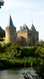 Muiderslot castel. In the Netherlands Stock Images