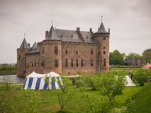 Muiderslot Castle in the Netherlands Royalty Free Stock Photography