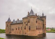 Muiderslot Castle in the Netherlands Stock Photo