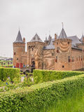 Muiderslot Castle in the Netherlands on National Castle Day Royalty Free Stock Photos