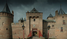 Muiderslot Muider Castle Royalty Free Stock Images