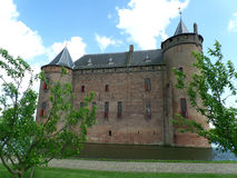 The Muiderslot, a stunning medieval castle in Netherlands Stock Photography