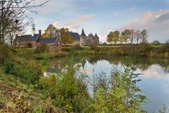 muiderslot z zamku, niderlandy obraz royalty free