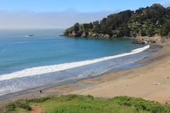 Muir Beach, Californië Stock Foto