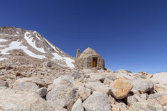 Muir Hut stockfoto