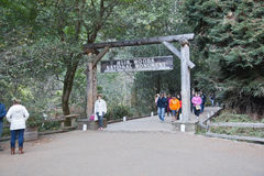 Muir Woods National Monument Entrance Sign Royalty Free Stock Image