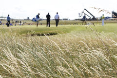 Muirfield Golf Course Grasses and Bunkers Stock Photography