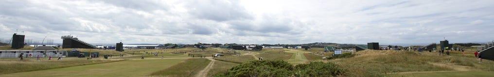 Muirfield pola golfowego bunkiery i trawy zdjęcia stock