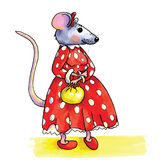 Muis - dame Royalty Free Stock Images