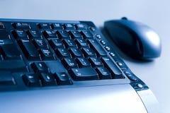 Muis en toetsenbord Royalty-vrije Stock Afbeeldingen