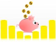 Muita economia Fotografia de Stock Royalty Free