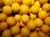 muitas bolas das laranjas Fotos de Stock