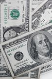 Muitas cédulas dos dólares Fotos de Stock Royalty Free