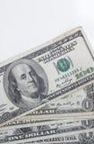 Muitas cédulas dos dólares Fotografia de Stock Royalty Free