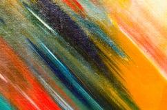 Muitas cores diferentes na lona Imagens de Stock Royalty Free