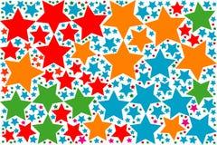 Muitas cores Tone Abstract Background e textura Fotografia de Stock