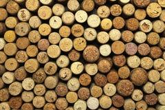 Muitas cortiça do vinho Imagens de Stock