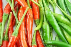 Muitas da pimenta de pimentão encarnado Foto de Stock