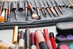 Muitas escovas naturais diferentes para a composição Imagens de Stock