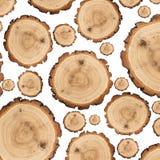 Muitas fatias de madeira Imagem de Stock Royalty Free