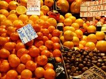 muitas laranjas foto de stock