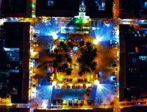 Muitas luzes no salento QuindÃo fotografia de stock royalty free