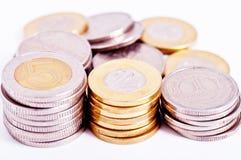 Muitas moedas Foto de Stock Royalty Free