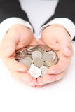 Muitas moedas Fotografia de Stock Royalty Free
