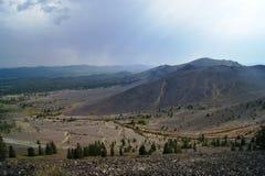 Muitas montanhas marrons Foto de Stock Royalty Free
