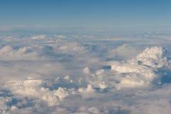 Muitas nuvens imagens de stock royalty free