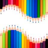 Muitas penas coloridas Fotos de Stock Royalty Free