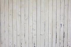 Muitas pranchas de madeira bege verticais com pregos, textura Imagem de Stock Royalty Free