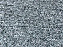 Muitas rochas do cascalho Decoração do jardim do uso foto de stock royalty free
