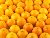 Muitas tangerinas como o close up do fundo Fotografia de Stock Royalty Free
