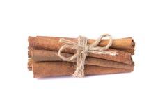Muitas varas de canela perfumadas Foto de Stock Royalty Free