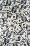 Muito 100 contas de dólar Fotografia de Stock Royalty Free
