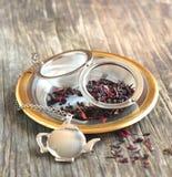 Muito Berry White Tea Imagens de Stock