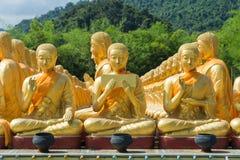 Muito buddha dourado Imagens de Stock Royalty Free