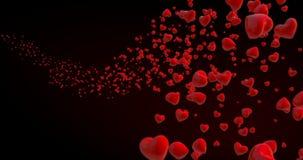 Muito coração vermelho ilustração royalty free