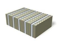 Muito dinheiro ilustração royalty free