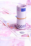 Muito dinheiro europeu Fotos de Stock Royalty Free