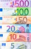 Muito dinheiro europeu Fotos de Stock