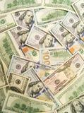 Muito dinheiro, fundo Fotos de Stock