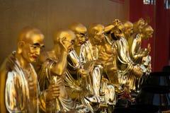 Muito estátua chinesa do deus Imagem de Stock