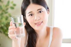 Muito mais problemas são através da dieta saudável e da água potável Imagens de Stock