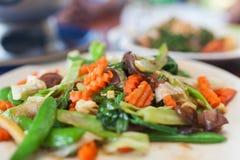 Prato do vegetal Imagens de Stock